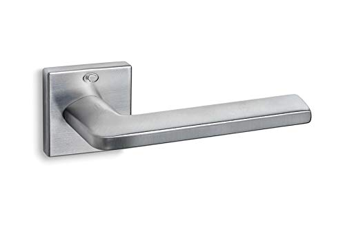 Lyxdörrhandtag Convex serie 1085, matt krom   dörrhandtag för innerdörrar   bästa kvalitet med 10 års garanti