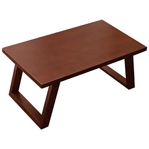 CSQ Baie vitrée Petit Table basse, style japonais Table basse lit Bureau d'ordinateur Bureau nordique Style Maison solide Table en bois (Size : 70 * 40 * 30CM)