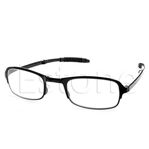 CUIGU - Gafas de lectura plegables unisex + 1 + 1,5 +...