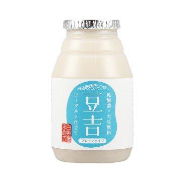 発酵飲料 飲む大豆ヨーグルト 豆乳ヨーグルト(乳酸発酵大豆飲料) 豆吉 プレーン 150g×12本 八ヶ岳南麓産 大豆まるごと。なのに飲みやすい。 グルテンフリー アレルゲンフリー