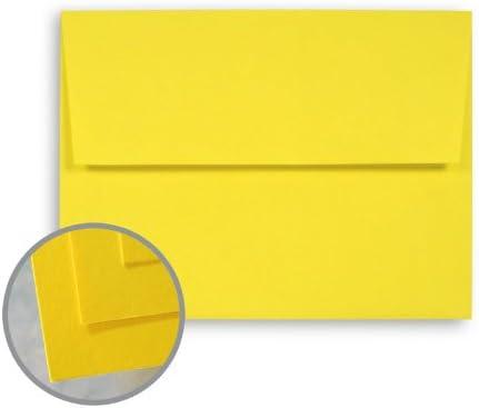 BriteHue Sun Yellow Envelopes - Branded San Francisco Mall goods A6 4 3 60 1 lb Text 2 Se 6 x