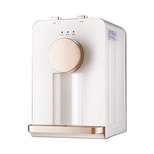 LXDDP Dispensador Enfriador Agua Carga Superior Dispensadores Agua y Agua Caliente a Temperatura Normal 5 galones, Mini dispensadores Agua, Mesa para Uso doméstico en oficinas pequeñas