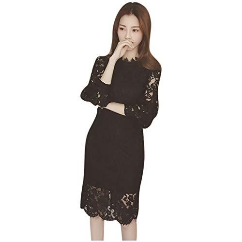 Best Price Women's Straight Long sleeve A-line skirt V-neck T Shirt Cold shoulder Hit Color Slim Ski...