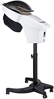 Xyfw Máquina De Acondicionamiento De Cabello Diseño De Vapor De Pelo De Ozono Multifuncional para Uso Personal En Casa O Salón con Soporte De Piso Rodante