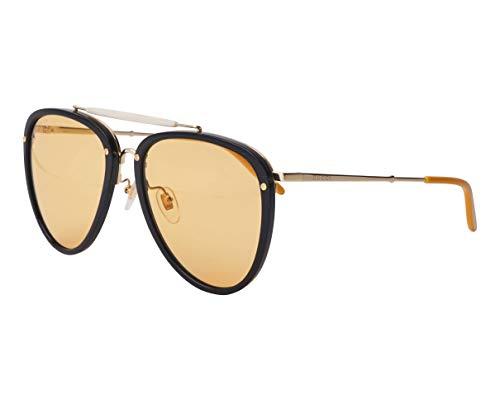 Gucci Gafas de Sol GG0672S BLACK/ORANGE 58/19/145 hombre