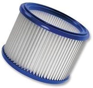 Nilfisk 302000490 Aspirador sin bolsa Filtro accesorio y suministro de vac?o - Accesorio para aspiradora (Aspiradora cil?ndrica, Filtro, Azul, Blanco, M, AERO 21 / AERO 21 INOX, AERO 26, AERO 31 INOX, ATTIX 50, ATTIX 7, IVB 3 SERIES, IVB 7X - ATEX TYPE..., 18,5 cm)