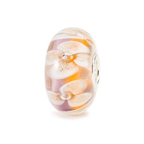 Trollbeads glas kraal Aisle of Passion