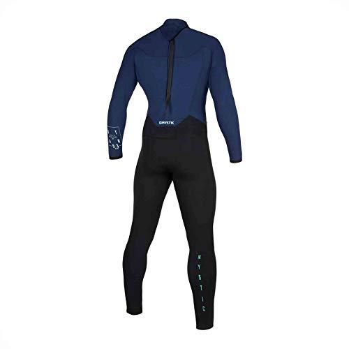 Mystic Watersports - Surf KiteSurf & Windsurfing Heren Star 3/2mm Wetsuit met Back Zip - Navy - Thermische warme warmtelagen