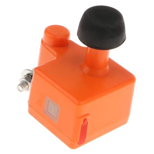 B Blesiya Fahrrad-Dynamo-Generator 5V-1A Ausgang Dual-USB-Ladegerät für Outdoor-Aktivitäten - Orange