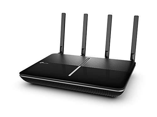 TP-Link Archer VR2800 modem router (Wifi, MU-MIMO, ADSL/VDSL/vezels, dual-band, 2x USB 3.0, Annex A, geschikt voor Oostenrijk/Zwitserland, niet in Duitsland inzetbaar) zwart