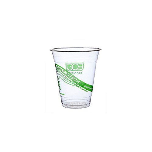 Eco-Products GreenStripe Renewable & Compostable Cold Cups, 12 oz,...