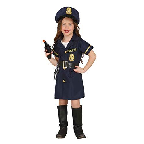 Guirca 85701 - Police Girl Infantil Talla 5-6 Años