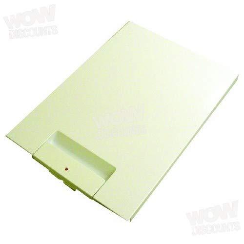 Bosch Kühlschrank Gefrierschrank Fach/Ice Box Tür Front Panel (weiß)