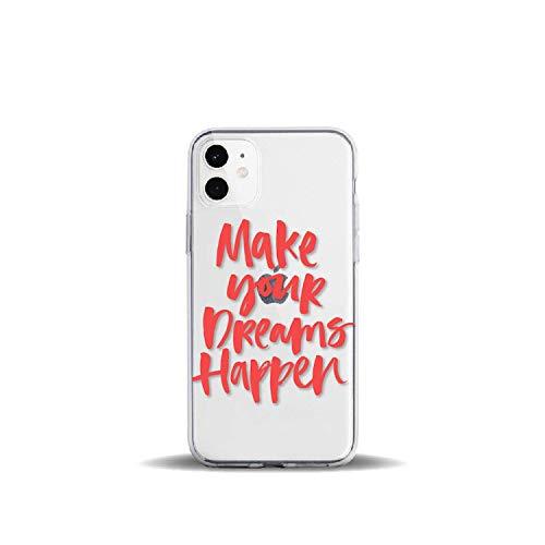 Positieve Quote Slogan Meisjes Rode Werelden Voor iPhone 11 Pro 7Plus 7 6S 8 8Plus X XS Max XR Zacht Helder TPU Telefoonhoesje, For iPhone 6 6S, 14