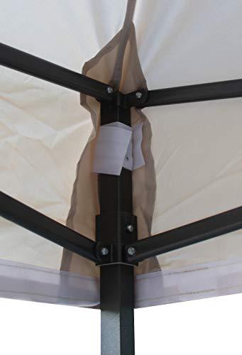 All Seasons Gazebos 2.5 x 2.5m Heavy Duty, Fully Waterproof Pop up Gazebo (Beige)