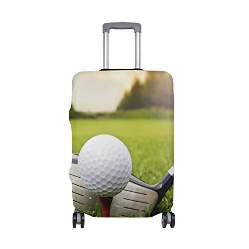 Protector de Maleta Lavable antiarañazos (se Adapta al Equipaje de 18-20 Pulgadas) Sport Golf Ball...