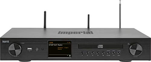 IMPERIAL DABMAN i550 CD HiFi-Verstärker Internetradio (DAB+/DAB/UKW/WLAN/LAN, Bluetooth, Streaming Dienste, CD-Player, Stereo Endstufe, AV Receiver)