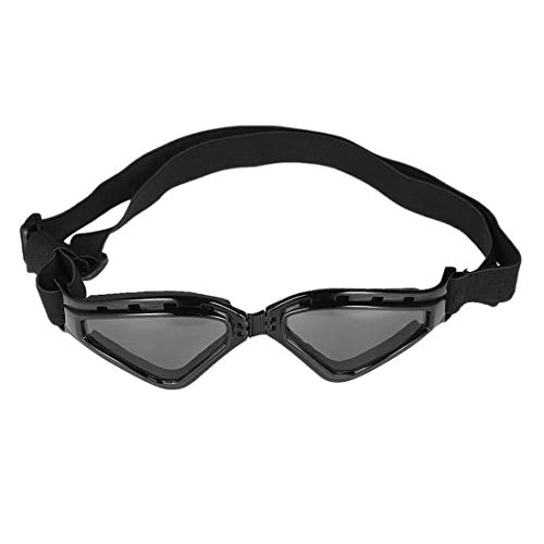 RongDuosi Inklapbare Huisdier Goggles Grote Goggles Waterdichte Zonnebril Anti-mist Winddichte Bril Ski Zonnescherm UV Goggles Met Verwijderbare Verwijderbare Hond Polsband Huisdier benodigdheden