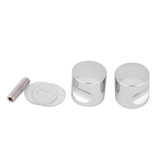 Herrajes para puertas de ducha Manija ergonómica brillante para puertas de ducha Manija para puertas de ducha de vidrio usando(Aluminum alloy*3)