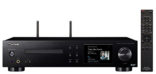 Pioneer NC-50DAB(B) All-in-One Hifi System (CD, DAB+, Verstärker, D/A-Wandler), WLAN, Bluetooth, USB, Streaming, Musik Apps (Spotify, Deezer u.a.), Internetradio, 50 W/Kanal, Multiroom, Schwarz