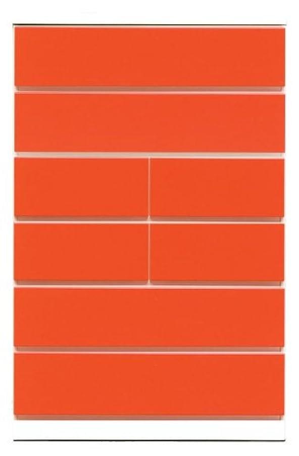 区別する想像力豊かな反対するアルファタカバ ベビータンスシリーズ パッソ 75cm幅6段 レッド