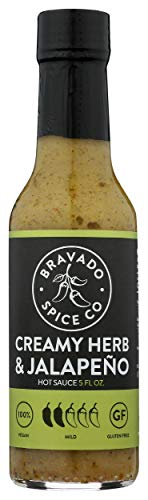Bravado Creamy Herb & Jalapeno Hot Sauce 140ml