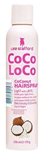 Lee Stafford Coco Loco Light Hold Hairspray 250ml