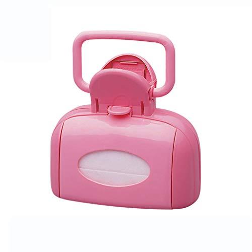 AA-Pet Pooper Scooper Scoop Portable pour Chien avec Un Sac à déchets, ramasseur de Pick-up Facile à Nettoyer pour Chat et Chien - Rose