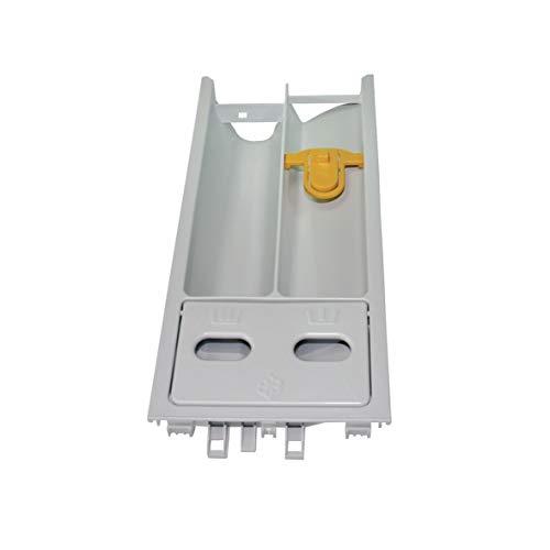 Waschmittelkasten Waschmittelschublade Einspülschale Wasserweiche Waschmaschine Frontlader ORIGINAL Miele 6026107 eingesetzt in eco ecocomfort exklusivedition ecoline w1966 w1964 w1948 w1979 w4166