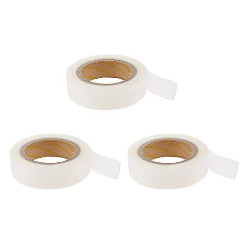 freneci Lotes de 3 Cintas Adhesivas de Sellado de Costuras Cinta Selladora para Reparación de Telas de Carpa Blanca