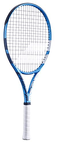 Babolat EVO Drive Strung - Raqueta de Tenis para Adulto, Unisex, 136-blue, Talla de Agarre: 0