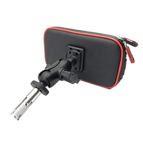 Lhtyouting Accesorios para Motocicletas Soporte de navegación GPS Soporte Impermeable para Honda CBR500R 2013-2018 hnlyt (Color : 4.7 5.2 Inch Bracket)
