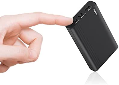 Mini Voice Activated Recorder | Small Audio Voice Recorder with Long Battery Time Recording | MP3 Digital Sound Recorder with Strong Magnetic for Lectures Interviews Meeting Classes (16GB)