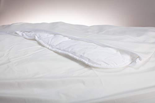 Fiducia abwaschbarer, wischdesinfektionsgeeigneter Matratzenvollbezug/Decken-Kissenbezug, Schutzbezug, Inkontinenz, Pflege Verschiedene Größen (135x200)