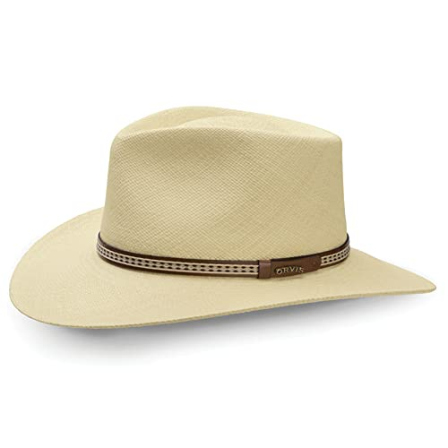 Orvis Men's Walnut Creek Genuine Panama Hat