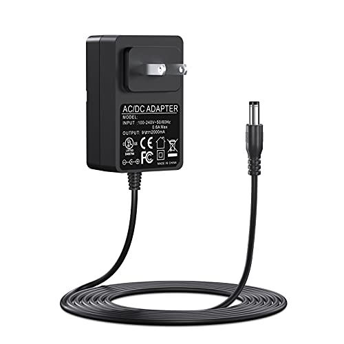 9V AC Power Adapter for Schwinn Bike 270 170 430 A10 A20 420 460 101 130 150 202 220 230 240 Replacement Schwinn 270 Power Cord for Exercise Elliptical Recumbent Upright Trainer Power Supply