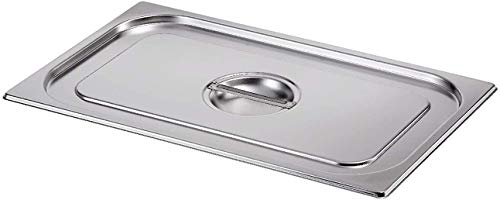 Gastro-Bedarf-Gutheil GN-Deckel ohne Löffelaussp. 1/1 GN Edelstahl geeignet GN Behälter 1/1
