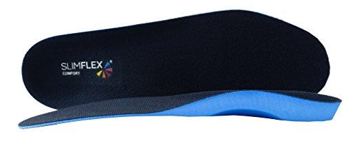 Slimflex Comfort - Plantillas de longitud completa, densidad media, adecuadas para una amplia gama de condiciones., color Azul, talla 36/40 EU