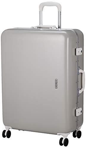 [サンコー] SERIES-R スーツケース セリエス 静音双輪キャスター ステッカー付 キャスターカバー付 75L 66 cm 5.2kg グレー
