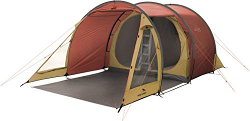 Easy Camp Galaxy 400, Tenda. Unisex-Adulto, Rosso Caldo, 260 x 465 cm