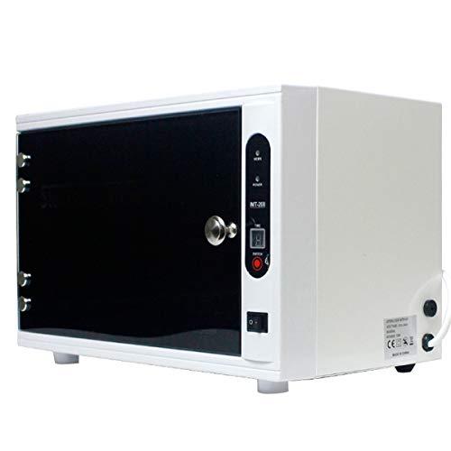 XUEE Uv-sterilisator-desinfectiebox, Spa-salon reinigingsgereedschap mini-ozon-desinfectiekast handdoekverwarmer voor de schoonheidssalon