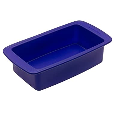 KitchenAid Silicone Loaf Pan, Blue