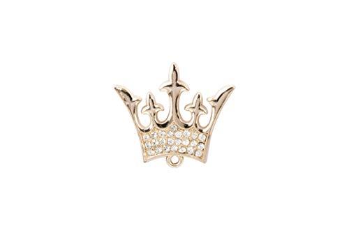 ridderschap mannen koninklijke koning koningin kroonbadge pak kraag broche (goud)