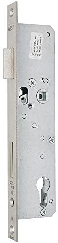 Panik-Einsteckschloss, Funktion D - Produkt-Richtung: DIN links, Dornmaß: 45, Ausführung: Falle + Riegel 5 mm vorstehend