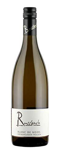 Russbach Blanc de Noirs trocken, Weingut Russbach, Rheinhessen (0,75 l) Jahrgang 2020
