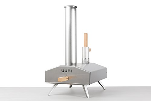Uuni 2s wood-fired pizza oven with stone baking board