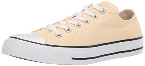 Converse Unisex-Adult Chuck Taylor All Star 2019 Seasonal Low Top Sneaker, Pale Vanilla, 9.5 Women/7.5 Men