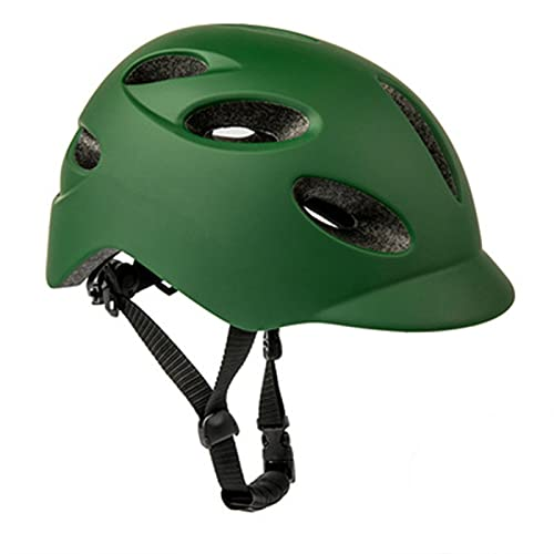 Casco de bicicleta eléctrica LED con luz trasera casco de carretera cómodo y transpirable M 54-58CM