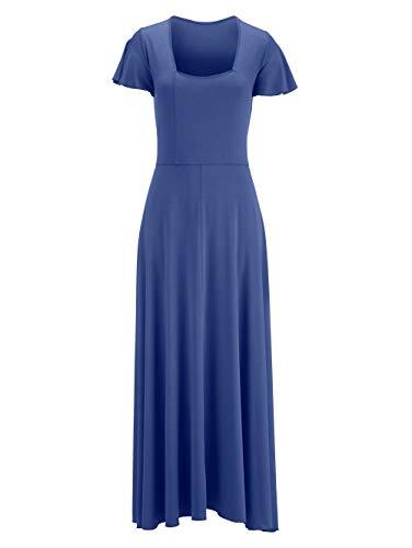 Alba Moda Strandkleid mit Rückenausschnitt royal
