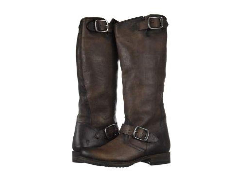 畝間混乱したきれいにFrye(フライ) レディース 女性用 シューズ 靴 ブーツ ライダーブーツ Veronica Slouch 2 - Stone Washed Oiled Vintage [並行輸入品]